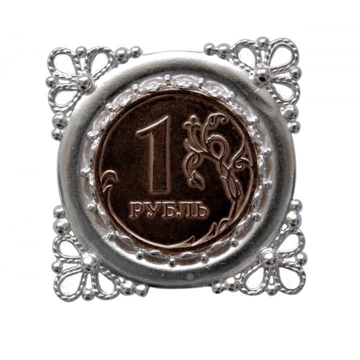 """Декор 40133 """"Неразменный рубль"""""""