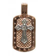 Крест с накладкой 40191