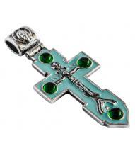 Крест с эмалью 40413