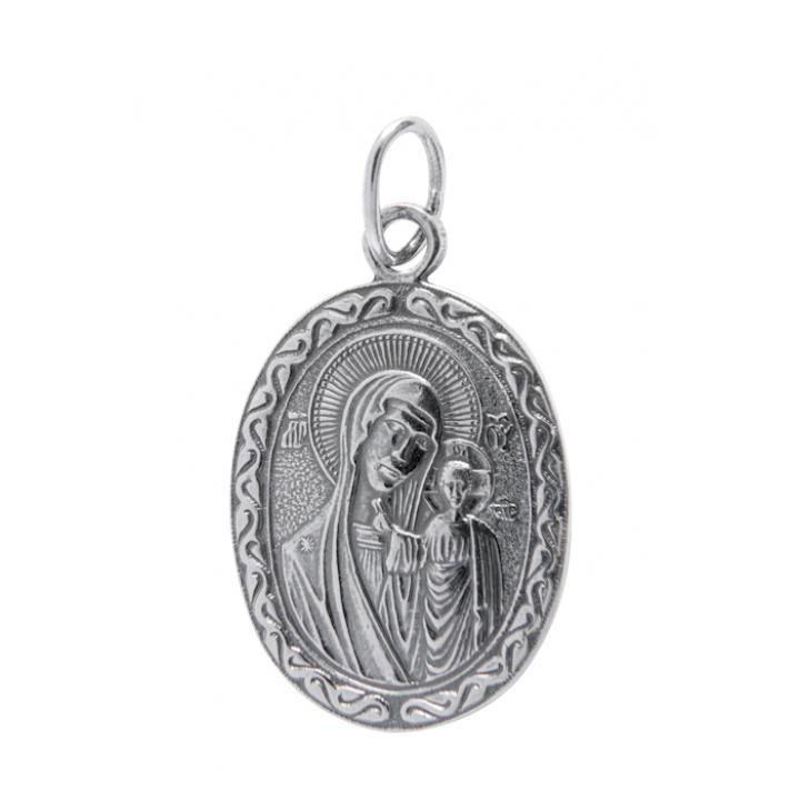 Нательная икона 40600-2002 Казанская икона Божией Матери