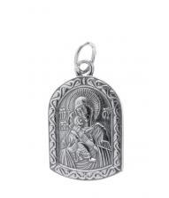 Нательная икона 40600-2004 Владимирская икона Божией Матери