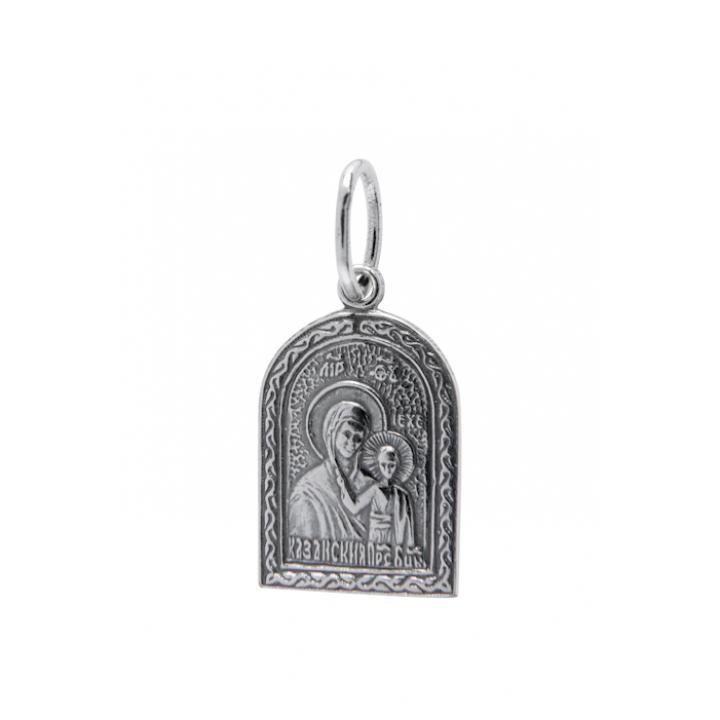 Нательная икона 40600-2006 Казанская икона Божией Матери