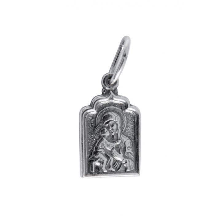 Нательная икона 40600-2016 Владимирская икона Божией Матери
