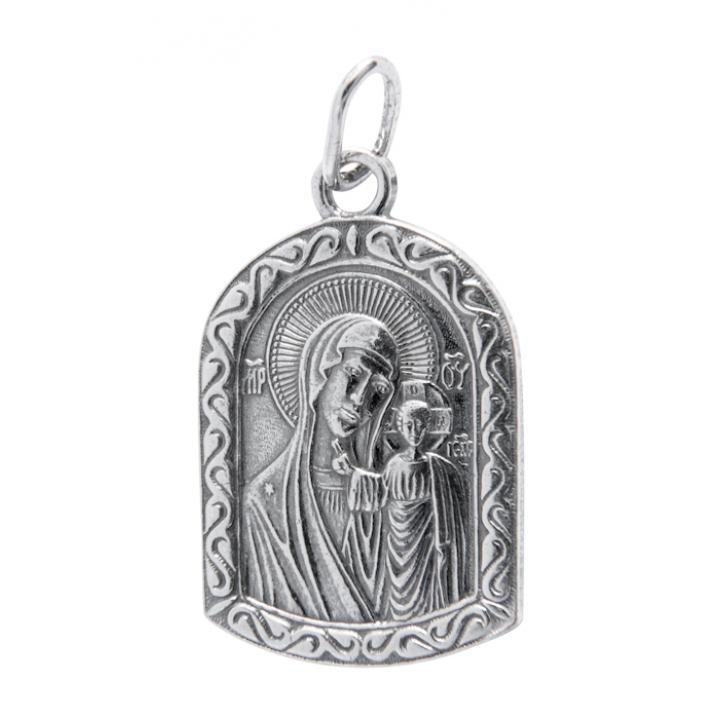Нательная икона 40600-2020 Казанская икона Божией Матери
