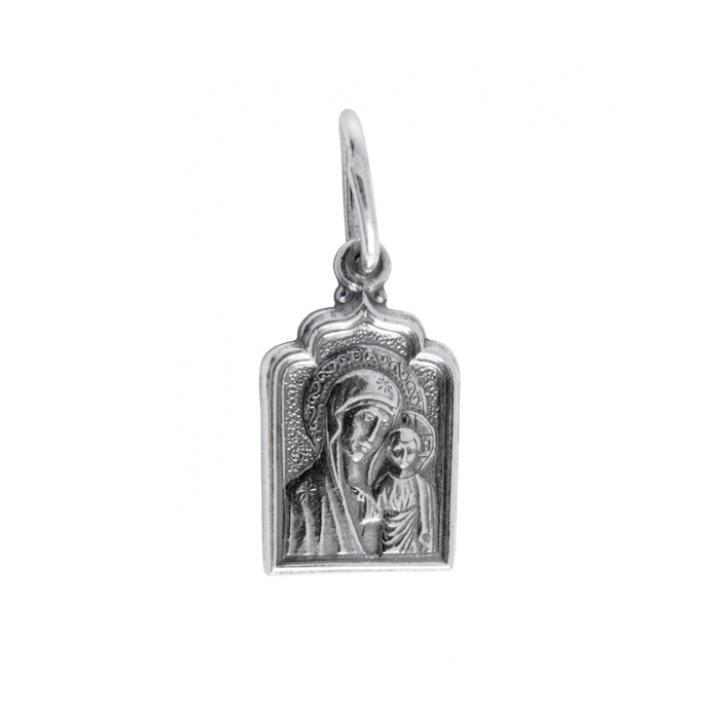 Нательная икона 40600-2023 Казанская икона Божией Матери