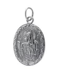 Нательная икона 40600-2025 Владимирская икона Божией Матери