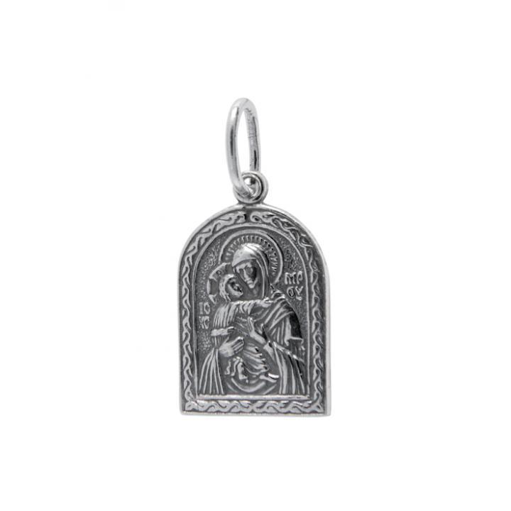 Нательная икона 40600-2028 Владимирская икона Божией Матери