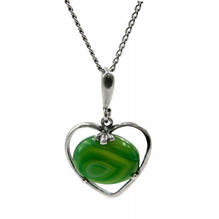 """Кулон 50152 """"Сердце камня"""""""